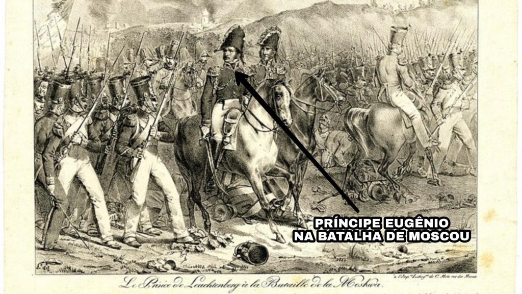 Le Prince de Leuchtenberg à la Bataille de la Mosk