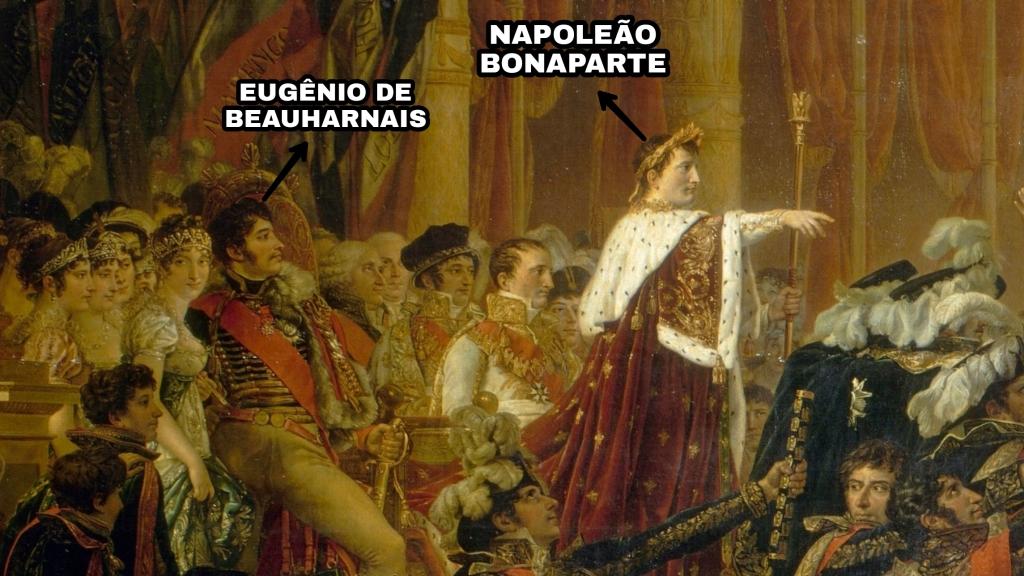 Juramento do exército feito ao Imperador após a distribuição das águias, 5 de dezembro de 1804, por Jacques Louis David.