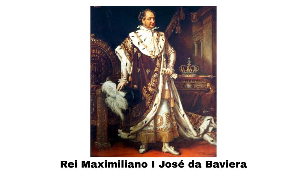 Rei Maximiliano I da Baviera, por Joseph Karl Stieler