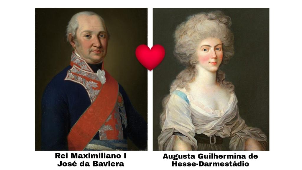 Avós maternos da Imperatriz Amélia de Leuchtenberg.
