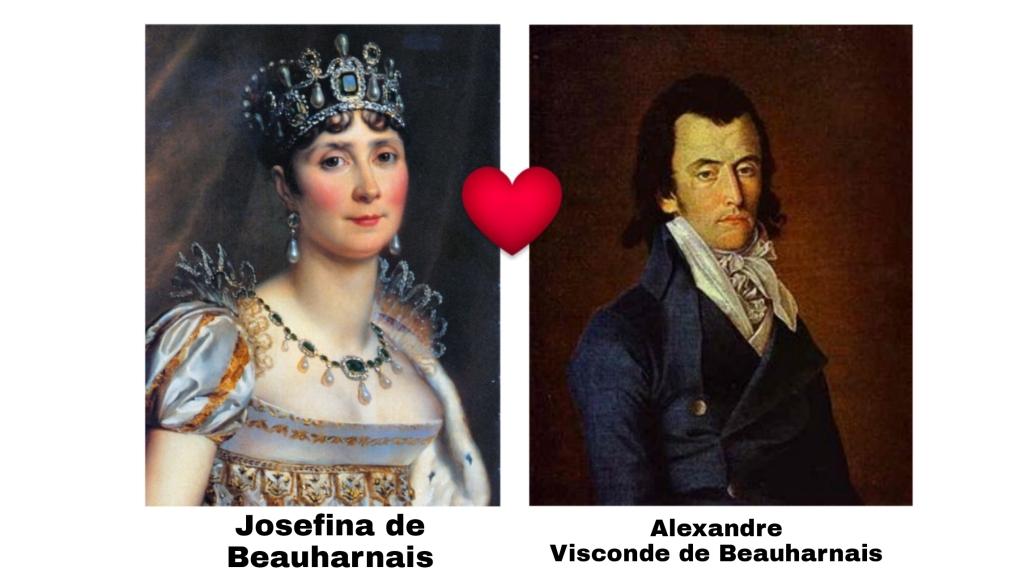 Avós paternos da Imperatriz Amélia de Leuchtenberg.