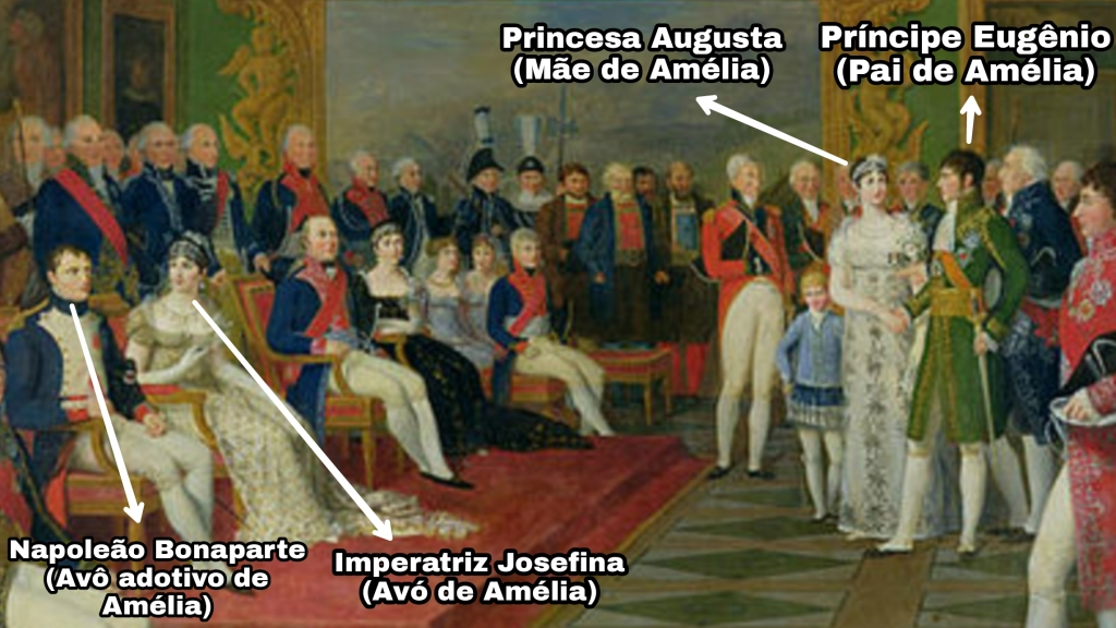 The marriage of Eugene de Beauharnais, por François Gerard