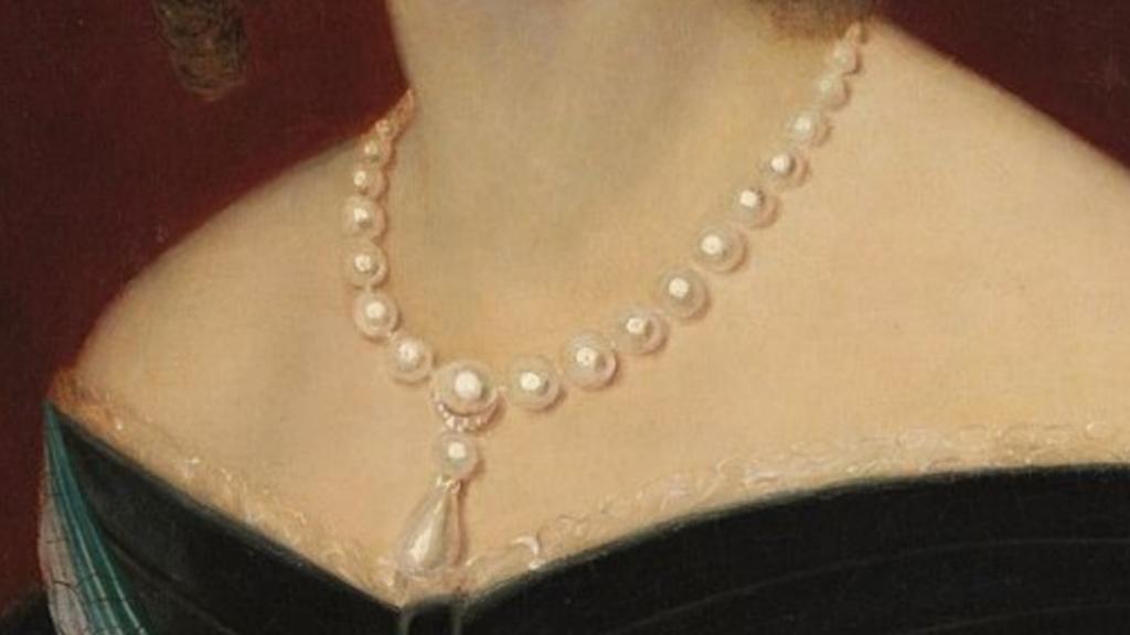 Pérolas da Imperatriz Amélia de Leuchtenberg.