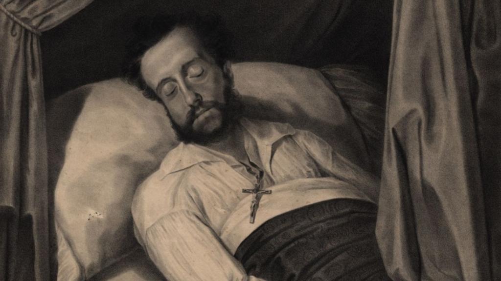 Dom Pedro I morto